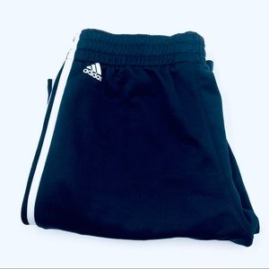 Adidas Navy Blue Striped Workout/Joggers Pants